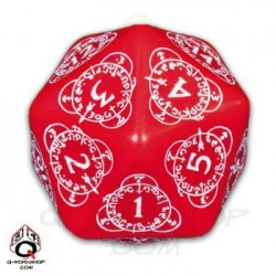 D20 Level Counter Rouge