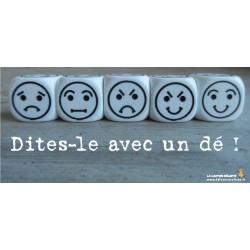 Dé 6 Smiley