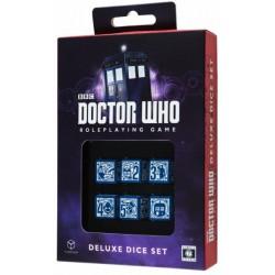 Set de dés Doctor Who Q-Workshop