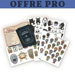 Carnets et Stickers pour Petits Détectives de Monstres : Offre PRO (Disponibilité au 16 décembre 2016)
