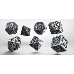 Set de dés Steampunk Métal