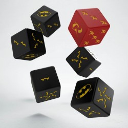 Set de dés Batman Miniature - D6 Batman Q-Workshop
