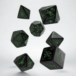 Set de dés INGRESS Vert
