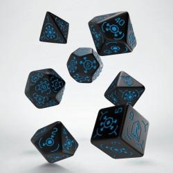 Set de dés INGRESS Bleu