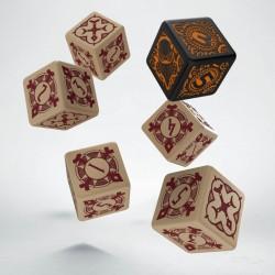 Set de 6 dés 6 faces WARMACHINE Protectorate of Menoth