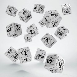 Set de 15 dés 6 faces BATTLE DICE SET Dog Tag