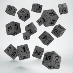 Set de 15 dés 6 faces BATTLE DICE SET British