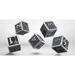 Set de dés Dwarven Metal d6