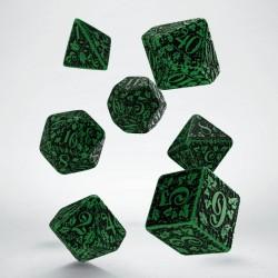 Set de dés Forest Vert Q-Workshop