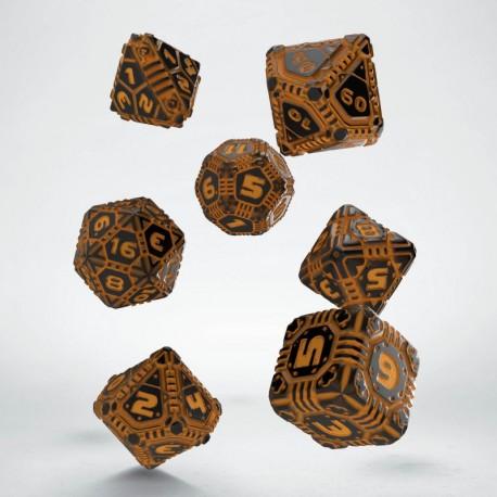 Set de dés Tech Dice Orange