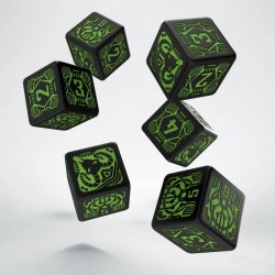 Set de dés Shadowrun Decker Q-Workshop