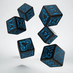 Set de dés Shadowrun Spellcaster Q-Workshop