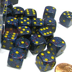 Set de mini dés 6 Speckled Twilight CHESSEX