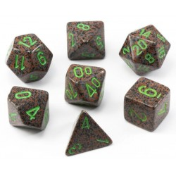 Set de 7 dés Speckled Earth CHESSEX