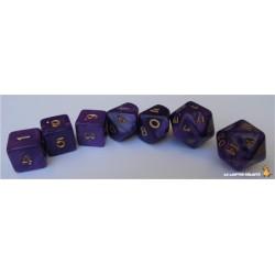 Set de dés Truqués Violet