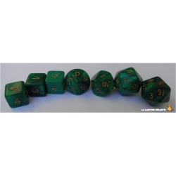 Set de dés Truqués Vert