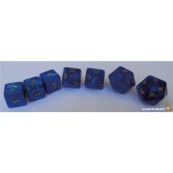 Set de dés Truqués Bleu