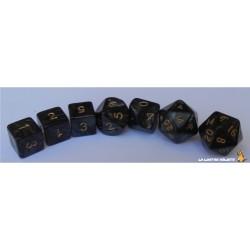Set de dés Truqués Noir