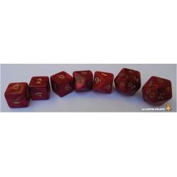 Set de dés Truqués Rouge