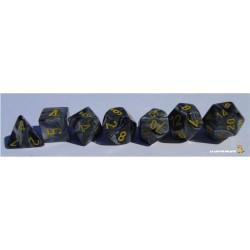 Set de dés Vortex Noir