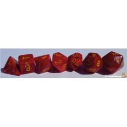 Set de dés Vortex Rouge