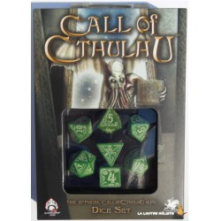 Set de dés Call of Cthulhu Phosphorescents