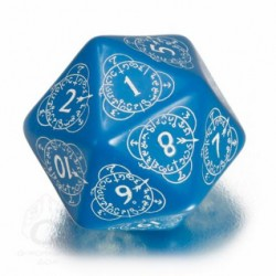 D20 Level Counter Bleu