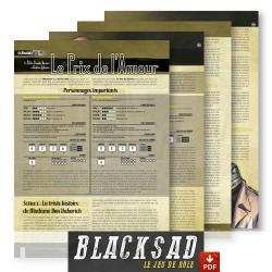 Le Prix de l'Amour : scénario PDF pour Blacksad - Le Jeu de Rôle