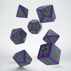 Set de dés Pathfinder Goblin Q-Workshop cadeau JDR rôliste