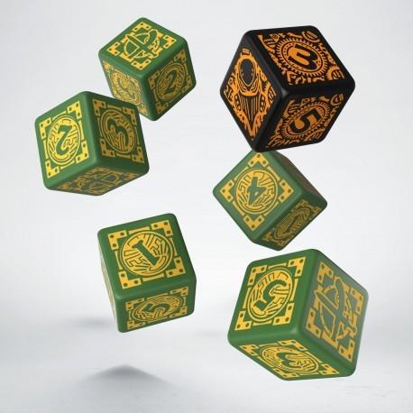 Set de dés WARMACHINE Mercenaries Q-Workshop