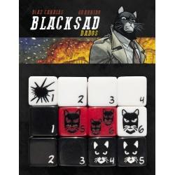 Set de 12 dés BLACKSAD - Le Jeu de Rôle