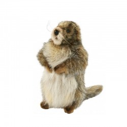 Peluche Marmotte ANIMA La Loutre Rôliste