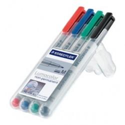 Marqueurs effaçables - Pack de 4 couleurs